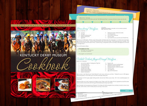NEW Kentucky Derby Museum 25th Anniversary Cookbook!