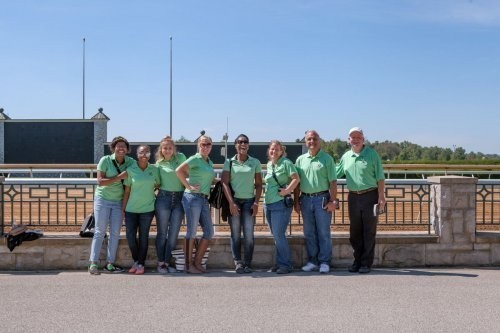 From a foal to the finish line- KDM Tour Guides Takes on The Keeneland Sales!
