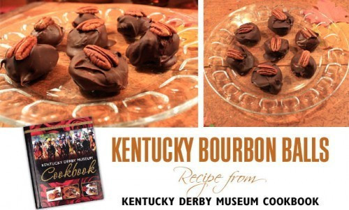 Kentucky Bourbon Balls Recipe ~ Kentucky Derby Museum Cookbook