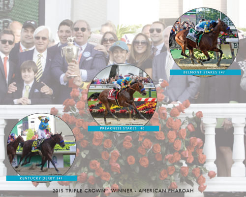 American Pharoah wins the Triple Crown!
