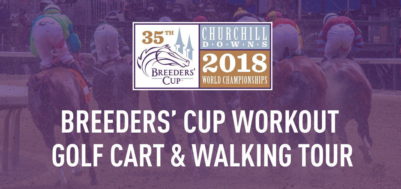 Breeders' Cup Workout Golf Cart & Walking Tour