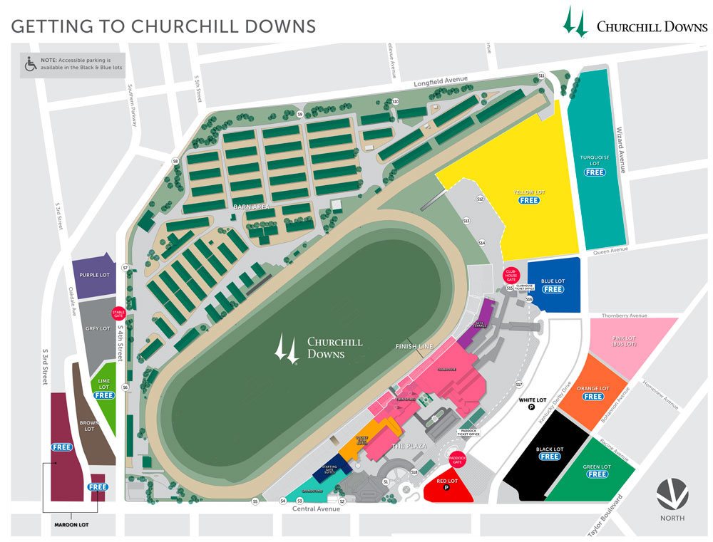 Directions Amp Parking Kentucky Derby Museum