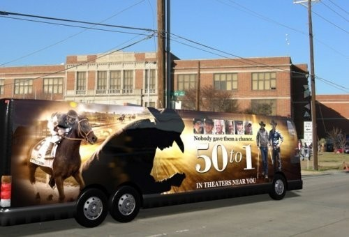 MOVIE '50 to 1' ANNOUNCES ROAD TOUR