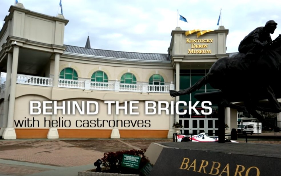 Behind The Bricks - Helio Visits Kentucky Derby Museum