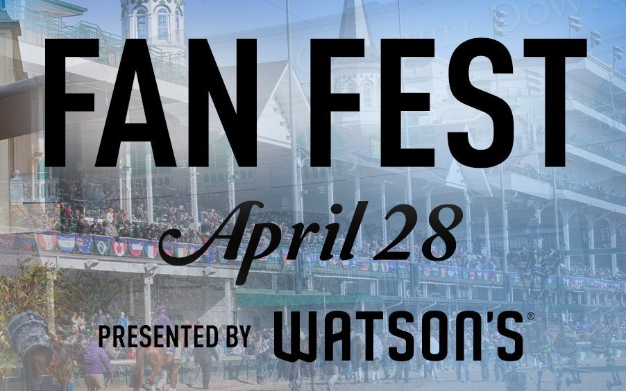 Kentucky Derby Museum announces schedule for Fan Fest Day 2019 Triple Crown Edition Presented by Watson's