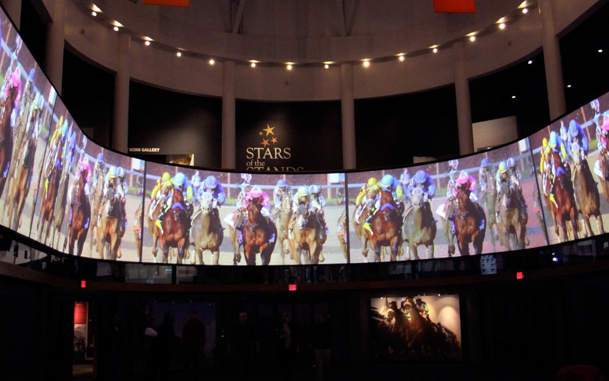 The Kentucky Derby Museum invites the public to celebrate the newly enhanced 360° media experience, The Greatest Race, Sunday, Dec. 6 with discounted admission