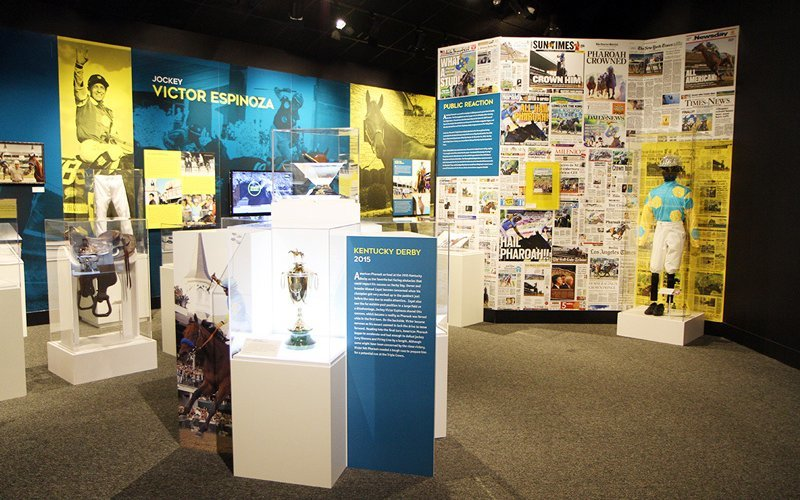 Final weeks to see Kentucky Derby Museum's AMERICAN PHAROAH exhibit