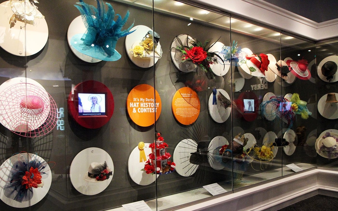 Kentucky Derby Museum's It's My Derby fashion exhibit updated with winners of  the 2016 Hat Contest and celebrity Derby Day ensembles