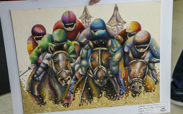 Louisville High School Senior Wins Grand Prize In KY Derby Museum's 'Horsing Around With Art'