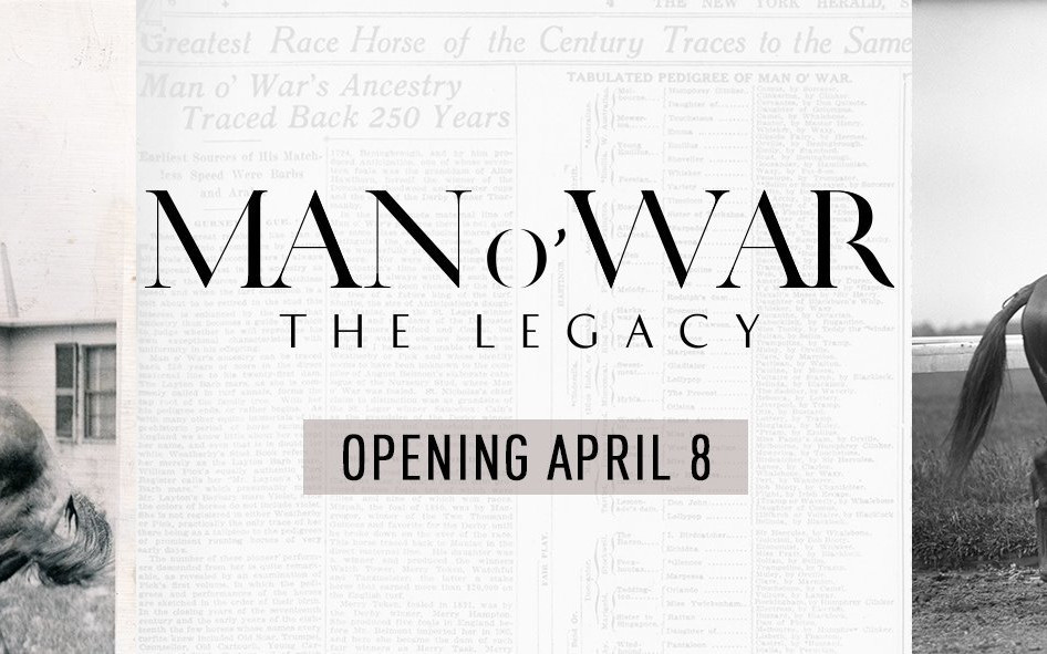 Kentucky Derby Museum opens Man o'War: The Legacy on Saturday, April 8th