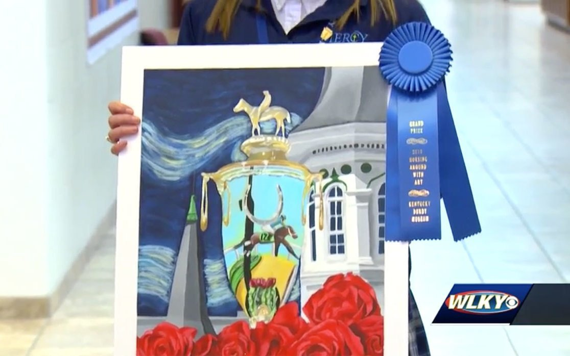 Mercy junior wins Kentucky Derby Museum art competition