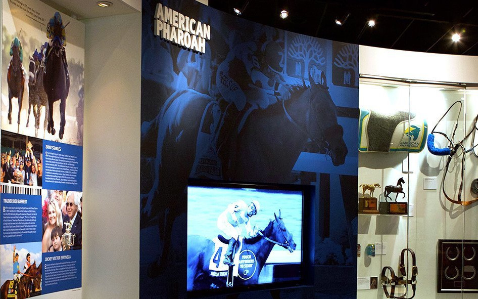 Permanent American Pharoah exhibit now open at the Kentucky Derby Museum