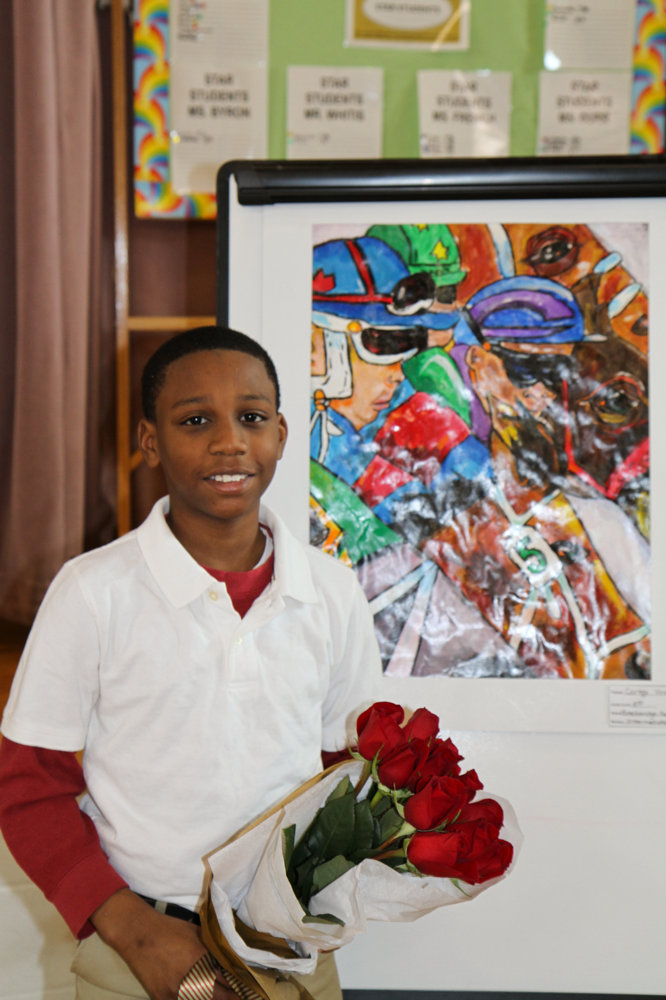 2013 Student Art Show Winner Surprised With Box Seats to the Kentucky Derby