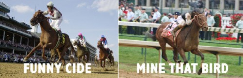 DERBY WINNERS FUNNY CIDE, MINE THAT BIRD  MAKE RARE JOINT APPEARANCE THURSDAY AT CHURCHILL DOWNS, KENTUCKY DERBY MUSEUM