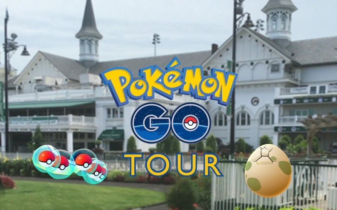Additional tickets and dates added to Pokémon Go Tour at Kentucky Derby Museum and Churchill Downs