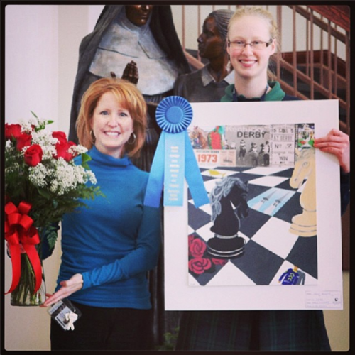 Horsing Around with Art Award Winners