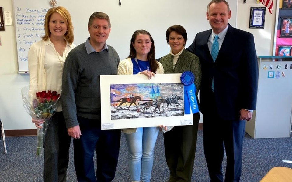 Ky Derby Museum crowns Mercy Academy student as art contest grand prize winner